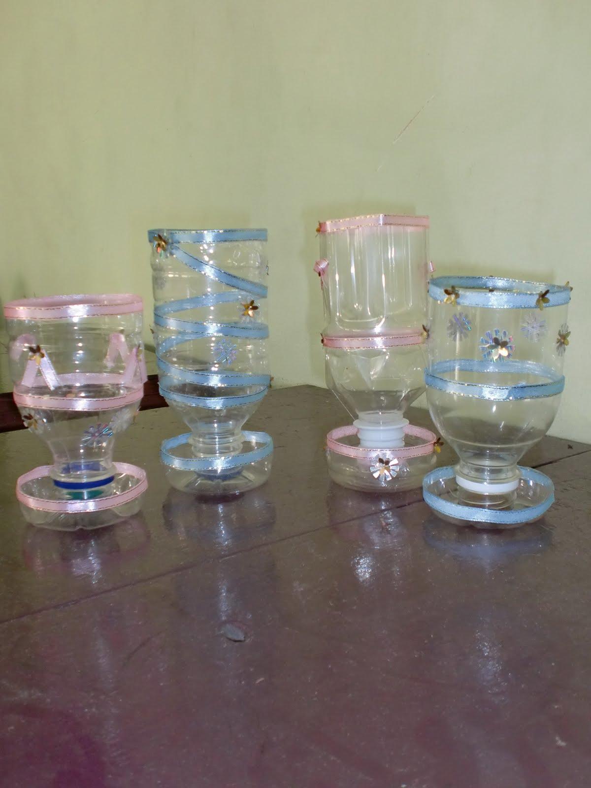Home Lampion Dari Gelas Plastik